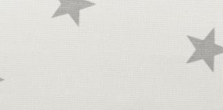 Pattern star white/grey